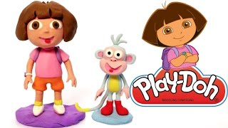 Dora the Explorer Play Doh animation