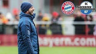 Odriozola vor BundesligaDebüt  Pressetalk mit Hansi Flick  FC Bayern München  SC Paderborn