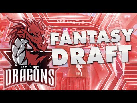 NBA 2K16 Tampa Bay Dragons MyLeague Ep. 1 - FANTASY DRAFT!   UNREAL TEAM!