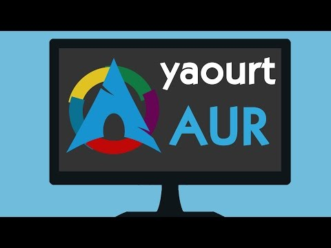 How to use Arch User Repository (AUR) with Yaourt