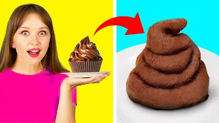 HUNGRY FOR PRANKS! || Funny DIY Food Pranks By 123 GO! FOOD