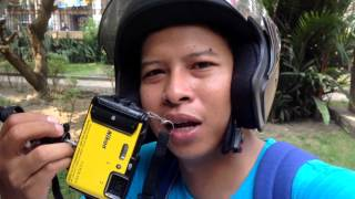 VLOG Video Test Nikon Coolpix AW130 - Medan Short Trip
