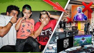*BROMA A ARES* NIÑO DE 5 AÑOS LLAMA A EPIC GAMES MUY ENFADADO
