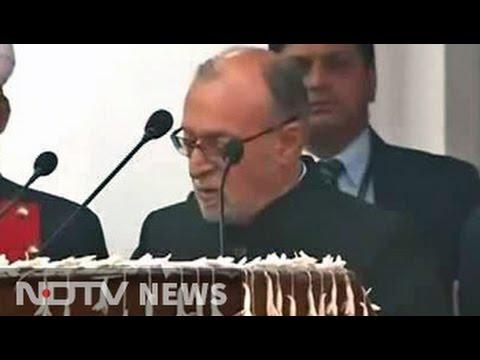 Anil Baijal Takes Oath As Lieutenant Governor Of Delhi