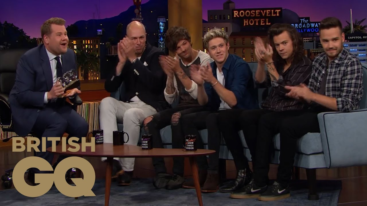 The Late Late Show With James Corden | One Direction Wiki ...