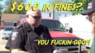bylaw guy lays 600 bucks in fines