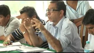 Primera Reunión del Consejo Regional del Café de la Selva Central en La Merced