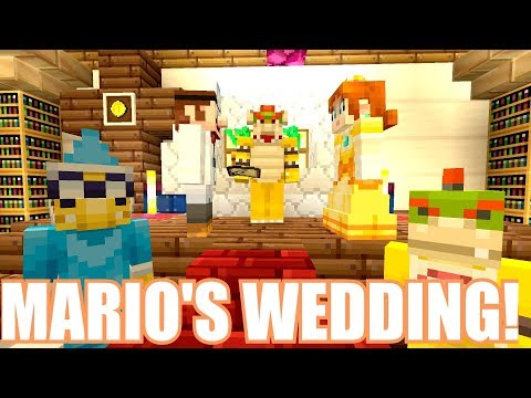 Minecraft Switch - Nintendo Fun House - MARIO'S BIG WEDDING! [BOWSER CAME!] [173]