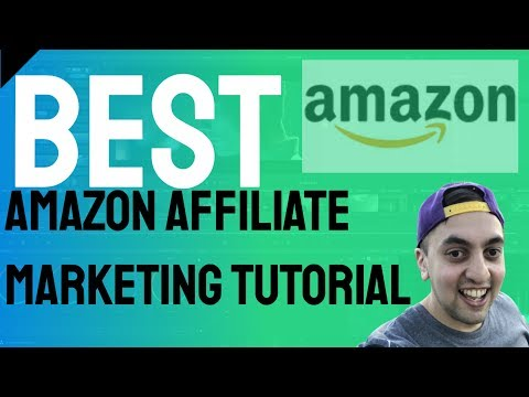 HOW TO AMAZON AFFILIATE MARKETING TUTORIAL | $4500 A MONTH FOR BEGINNERS (**Not Clickbait**) thumbnail