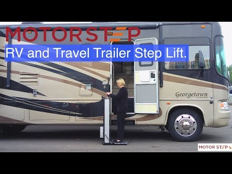 MOTORSTEP - Motorised Portable Step for Motor Home & Your Home!
