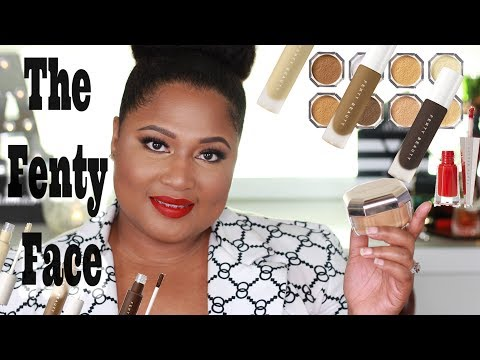 FENTY BEAUTY | Concealer and Setting Powder First Impression  ~ Testing New Foundation Shade 385!!!