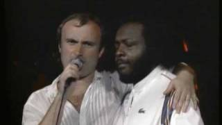 Phil Collins - Band Introductions Part 1: Elevator Musac / Pheonix horns (No Ticket Required) Live!