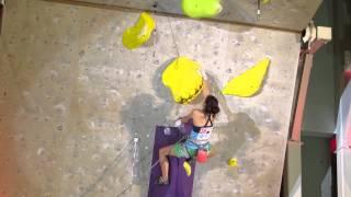 Yuka KOBAYASHI, Final , IFSC Climbing Worldcup (L) - Inzai (JPN) 2014 小林由佳 検索動画 29