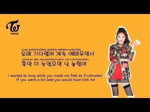 [Twice] Do it again 다시 해줘 Lyrics (Eng,Rom,Han)