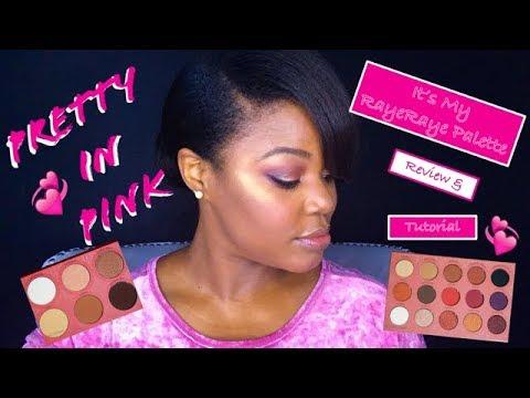 BH Cosmetics + It's My RayeRaye Palette + Brush Set + Review / Tutorial: Pretty In Pink: ENB