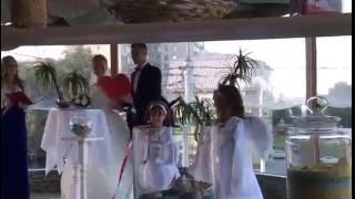 видео Свадебные ангелочки на свадьбу