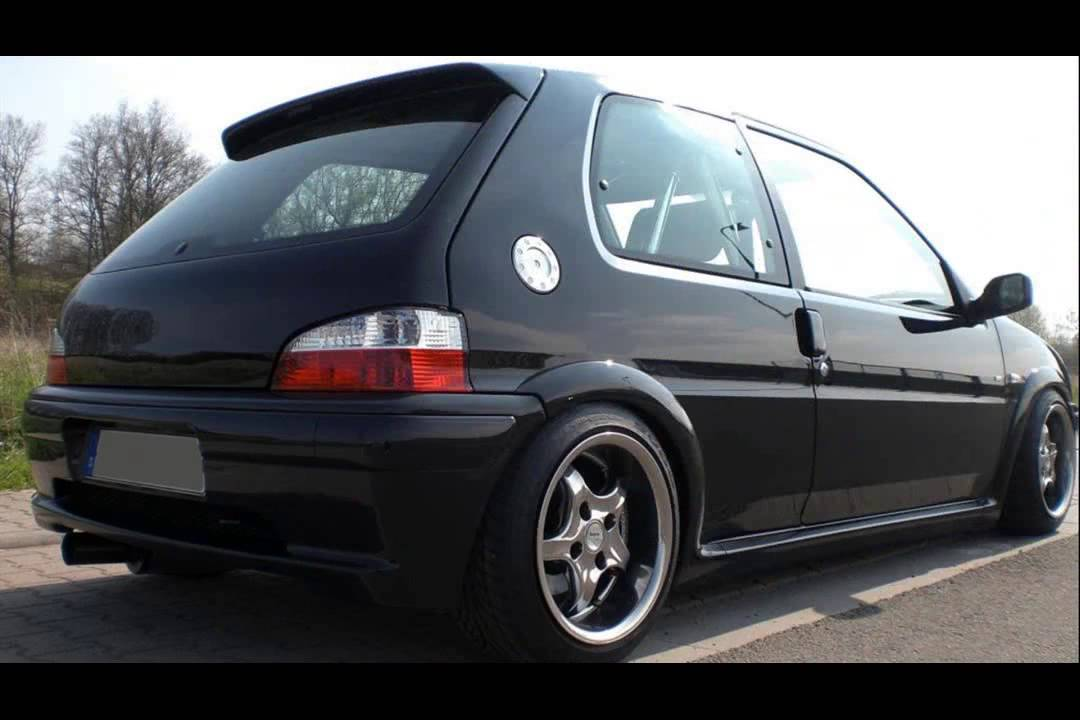 peugeot 106 1 6 tuning youtube. Black Bedroom Furniture Sets. Home Design Ideas