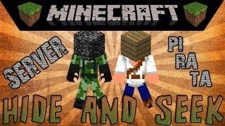 Server pirata c/ Hide and Seek + Outros minigames - Minecraft