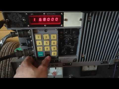 """Работа радиостанции Р-173 """"Абзац"""""""