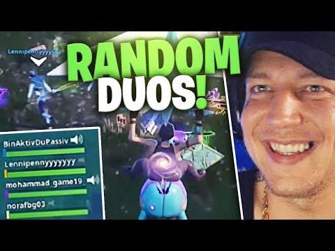 Random Duos in Fortnite | SpontanBlack