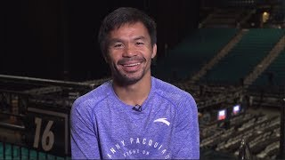 Manny Pacquiao talks Mayweather, Thurman | SI Now | Sports Illustrated