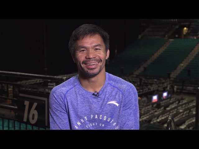 Manny Pacquiao talks Mayweather, Thurman