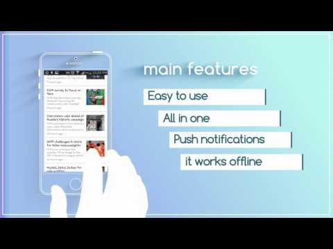 Quick World News - App Demo