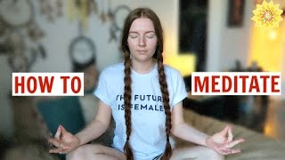 HOW TO MEDITATE | YOUnity | MEGHAN HUGHES