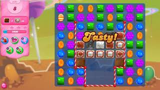 Candy Crush Saga Level 3491 NO BOOSTERS (16 moves)