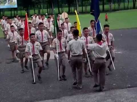 Scouting Month Fancy Drill 2016: Mandaue City Science High School