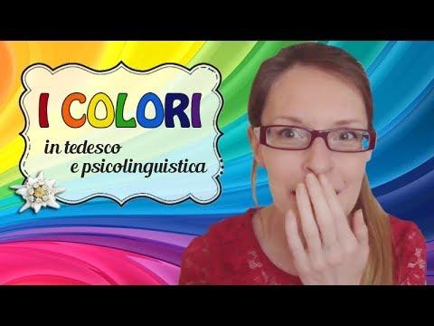 [IT] 🇩🇪 tedesco facile #20   I colori
