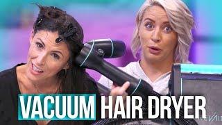 $500 Hair Dryer vs. $25 Hair Dryer! (Beauty Break)