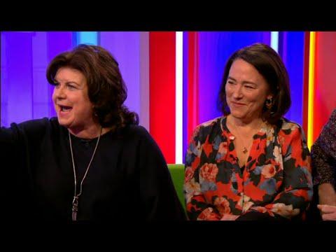 TWO DOORS DOWN  Elaine C  Smith  & Arabella Weir Interview