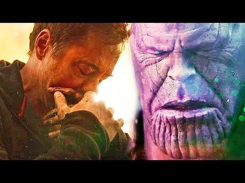 Los Top 5 Momentos Mas Tristes de Avengers InfinityWar!