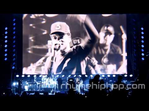 Jay Z Brings Out Big Sean, Chance The Rapper, J. Cole, & Beyoncé at free show in Cleveland
