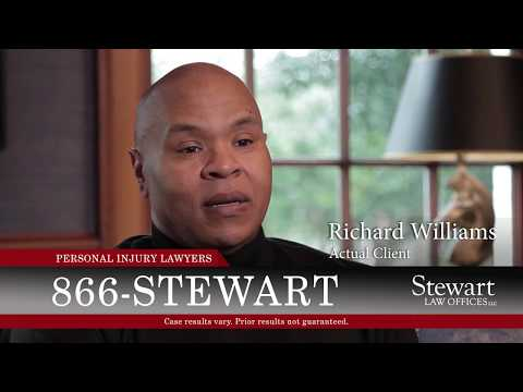 Dog Bite Victim Richard Williams - Stewart Law Offices