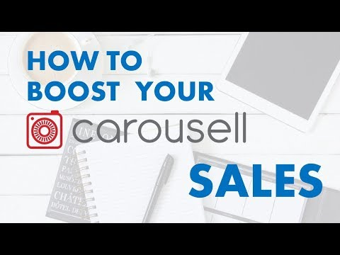 HOW TO BOOST YOUR CAROUSELL SALES : 3 TIPS!