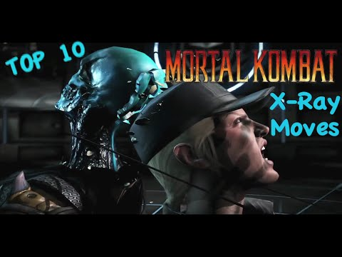Top 10 MORTAL KOMBAT X X-Ray Moves