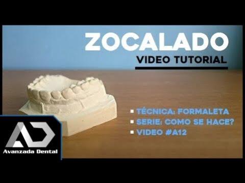 dad515810 Zocalado De Un Modelo De Estudio [Formaleta] - YouTube