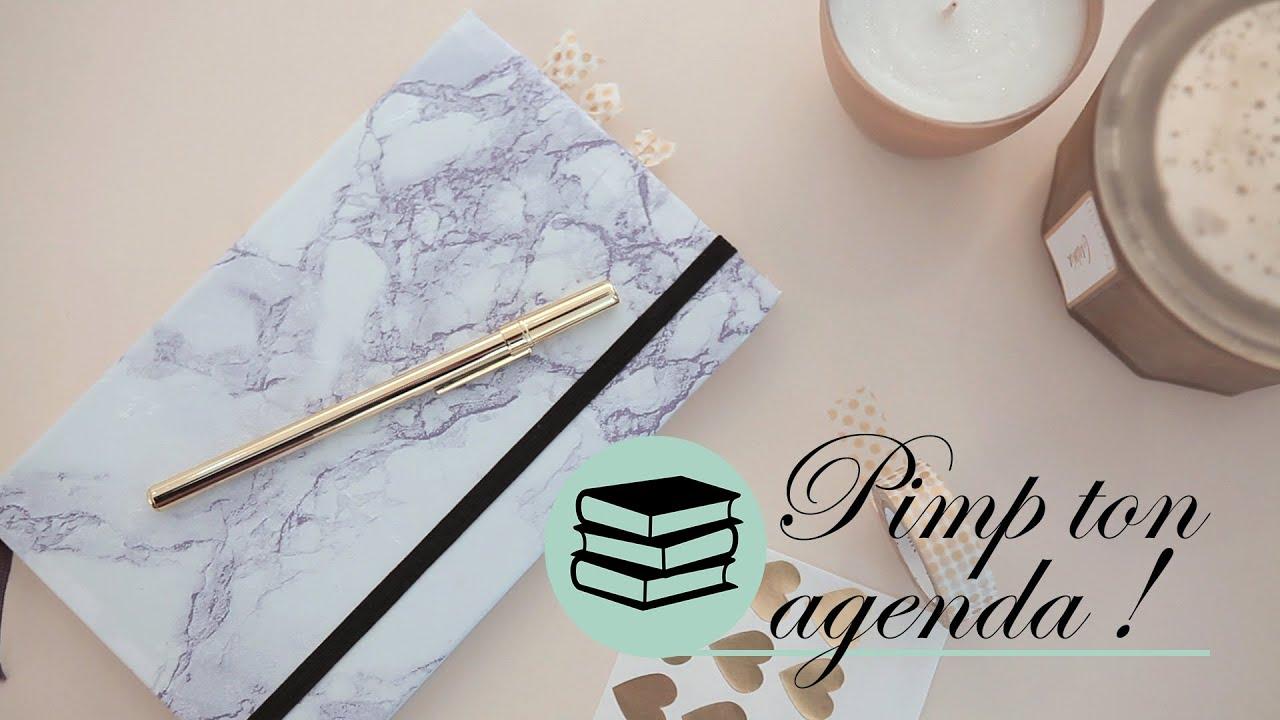 Connu DIY Organisation - Agenda marbré chez Boucle & Papier - Le petit  DZ08