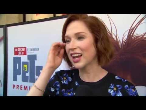 """The Secret Life of Pets: Ellie Kemper """"Katie"""" Movie Premiere Interview"""