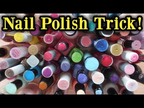 Organize Your Nail Polish Collection