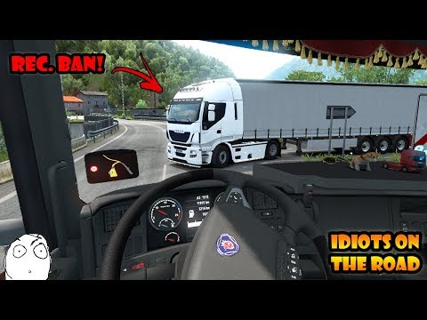 ★ IDIOTS on the road #51 - ETS2MP | Funny moments - Euro Truck Simulator 2 Multiplayer