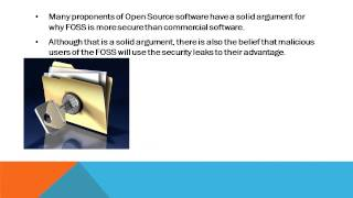 Chapter 3: Software- Closed vs. Open Source