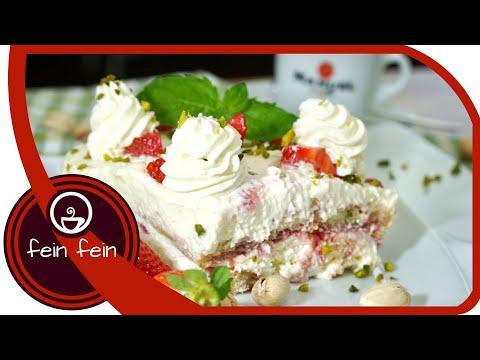 Erdbeertiramisu Rezept | schnell und einfach zubereitet | DIY | lecker