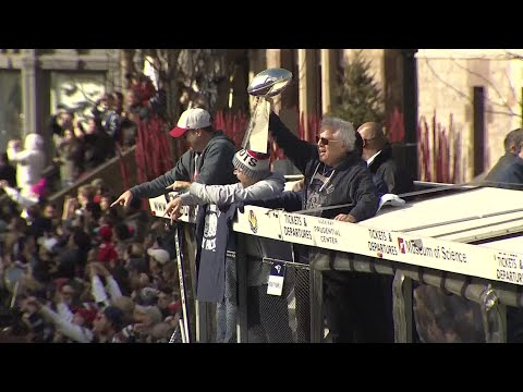 VIDEO NOW: Patriots Rolling Rally