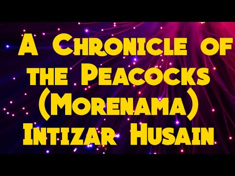A Chronicle of peacocks by Intizar Hussain in Hindi, SOL DU 1st yr.Individual and society