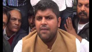 INLD OFFICIAL : ROHTAK INLD YOUTH PROTEST AGAINST HCS JOB SCAM BY CONGRESS