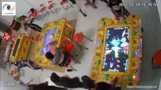 Camera Cận Cảnh Giang Hồ Đập Nát Tiệm Bắn Cá