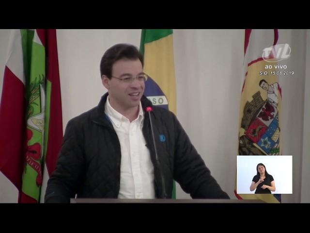 15/08/2019 - Pronunciamento Sessão Ordinária